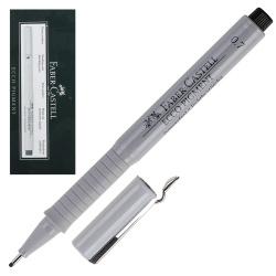 Ручка капиллярная 0,7 Faber-Castell Еcco Pigment 166799 черный картонная коробка