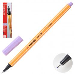 Ручка капиллярная 0,4 Stabilo Point 88/59 светло-сиреневый картонная коробка
