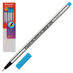 Ручка капиллярная, пишущий узел 0,8мм, цвет чернил голубой Fine Writer Luxor 7138