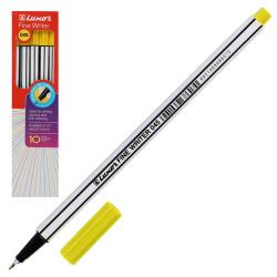 Ручка капиллярная, пишущий узел 0,8мм, цвет чернил желтый Fine Writer Luxor 7127