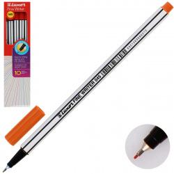 Ручка капиллярная, пишущий узел 0,8мм, цвет чернил красный кирпичный Fine Writer Luxor 7132