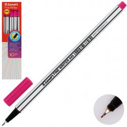 Ручка капиллярная, пишущий узел 0,8мм, цвет чернил розовый Fine Writer Luxor 7130