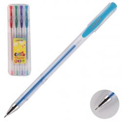 Набор гелевых ручек 4 цвета, 4шт, гелевая, 1,0мм Glitter Cosmo deVENTE 5051408