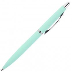 Ручка шариковая подарочная мятный корпус поворотный механизм BrunoVisconti San remo 20-0249/102 металлический футляр