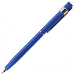 Ручка шариковая подарочная синий глянцевый корпус поворотный механизм Pierre Cardin EASY PC5916BP синяя пластиковй футляр