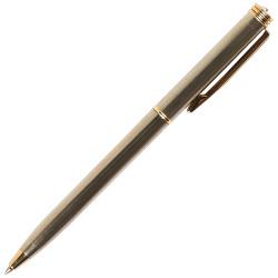 Ручка шариковая подарочная серебряный глянцевый корпус со стразами поворотный механизм Pierre Cardin GAMME PC0802BP синяя картонный футляр