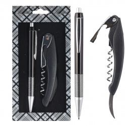 Набор 2пр ручка, нож 204007 KLERK ассорти 2 вида
