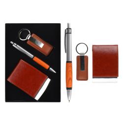 Набор 3пр ручка, брелок, визитница 204011 KLERK