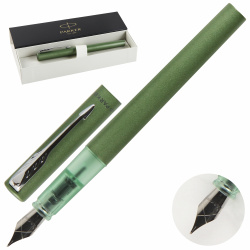 Ручка перо, подарочная GREEN FP F GB Vector XL Parker 2159762