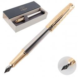 Ручка перьевая PARKER Urban Premium Aureate Powder GT корпус латунь/алюминий FP F 1931571