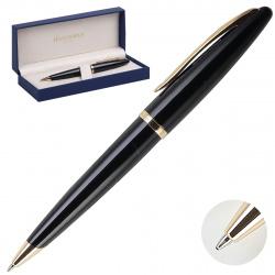 Ручка шариковая Waterman Carene Black Sea GT BP M лак корпус латунь/позолота S0700380 синяя