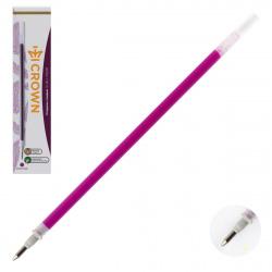Стержень гелевый, 138мм, пишущий узел 0,7мм, цвет чернил фиолетовый   Crown HJR-200Н