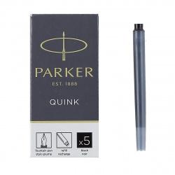 Картридж 75мм Parker Cartridge Quink 5штук 1950382 черный