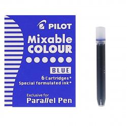Картридж Pilot IC-P3-S6 (L)/01751 6 штук синий