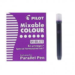 Картридж Pilot IC-P3-S6 (V)/01751 6 штук фиолетовый