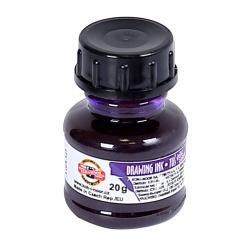 Тушь 20мл Koh-i-noor 141772 фиолетовая