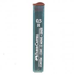 Грифель 0,5мм H 12шт Faber-Castell Polymer 521511