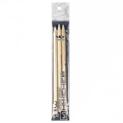 Набор карандашей 3шт, Т, ТМ, М, дерево, шестигранный, пакет Воскресенская карандашная фабрика 3P-1240