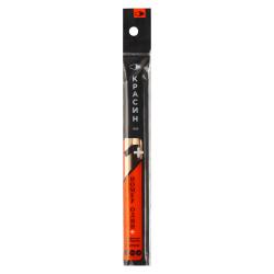 Набор карандашей 3шт Krasin Номер один шестигранные заточенные С-479 (Т,М,ТМ) ПВХ с европодвесом