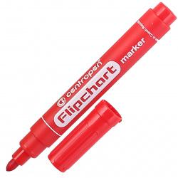 Маркер для флипчарта пулевидный 2,5мм Centropen Flipchart 8550/01 красный