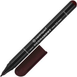 Маркер перманентный пулевидный 1мм Centropen 2846/01-11 коричневый