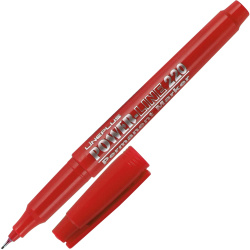 Маркер перманентный пулевидный капиллярный 1мм Line Plus 220 (200UF) красный