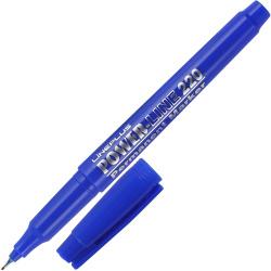 Маркер перманентный пулевидный капиллярный 1мм Line Plus 220 (200UF) синий