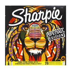 Набор маркеров перманентных 18цв 26шт 0,7-2,0мм SHARPIE PMKR ASS BIGPACK 26 LION 20 PE 2110123
