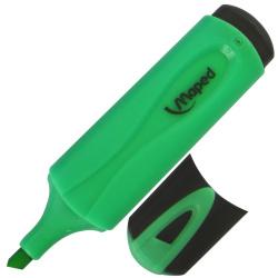 Текстовыделитель 1,0-5,0мм, скошенный, цвет зеленый Highlighter Maped 742533