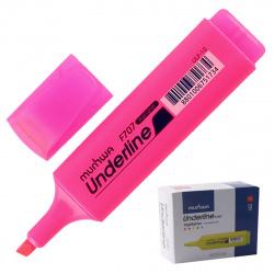 Текстовыделитель 1-5мм MunHwa UnderLine ULF-10 розовый