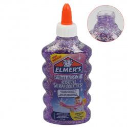 Клей для слаймов 177мл Elmers Glitter glue1063544/2077253 фиолетовый