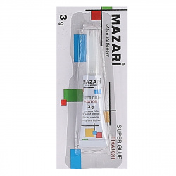 Клей супер 3гр Mazari M-5678