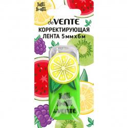 Корректирующая лента 5мм*6м deVENTE Tutti-Frutti. Lemon 4062006 салат корп