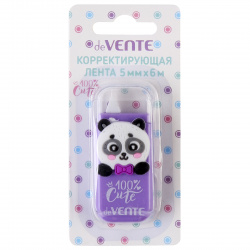 Корректирующая лента 5мм*6м deVENTE 100% Cute. Panda 4062002 сирен корп