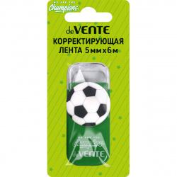 Корректирующая лента 5мм*6м deVENTE Champions. Football 4062008 зел корп