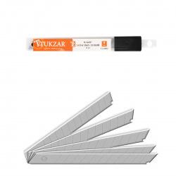 Лезвия для ножей 9мм Tukzar TZ 6902 комплект 10шт в пластиковом пенале