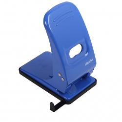 Дырокол до 60 листов, металл, линейка, 2 пробивных отверстия, цвет синий ECONOMY Attache 1039677