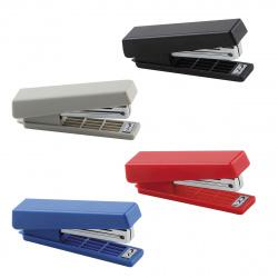 Степлер №10 до 10л пластиковый корпус с антистеплером KW-trio 5280/812288 ассорти