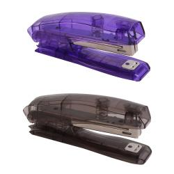 Степлер №10 до 20л пластиковый корпус с антистеплером Erich Krause Elegance 2177 ассорти