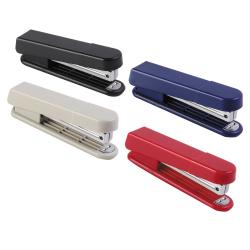 Степлер №10, до 10 листов, корпус пластиковый, антистеплер, ассорти 4 вида   KW-trio 5220