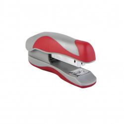 Степлер №24/6, до 20 листов, корпус пластиковый, антистеплер, резиновые вставки, цвет красный Eagle  Alpha S5023B/с-кр