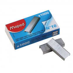 Скобы для степлера №10 1000шт Maped 324105