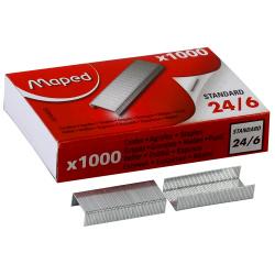 Скобы для степлера №24/6 1000шт Maped 324405