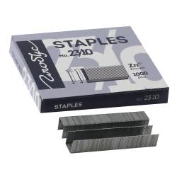 Скобы для степлера №23/10 1000шт Globus C23/10-1000 оцинкованные
