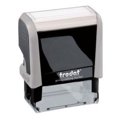 """Штамп стандартный """"ОПЛАЧЕНО"""" оттиск 38*14мм TRODAT 4911/DB/L1.2"""