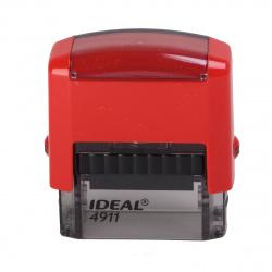Оснастка для штампа 38*14мм цвет оттиска синий TRODAT IDEAL 4911 Р2 подушка в комплекте корпус красный