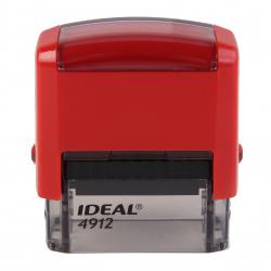 Оснастка для штампа 47*18мм цвет оттиска синий TRODAT IDEAL Р2 4912 подушка в комплекте корпус красный