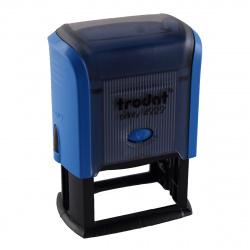 Оснастка для штампа 50*30мм цвет оттиска синий TRODAT PRINTY 4929 подушка в комплекте корпус синий
