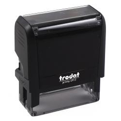 Оснастка для штампа 58*22мм цвет оттиска синий TRODAT 4913 подушка в комплекте корпус черный