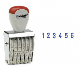 Нумератор ленточный 6-разрядный 27*4мм TRODAT 1546